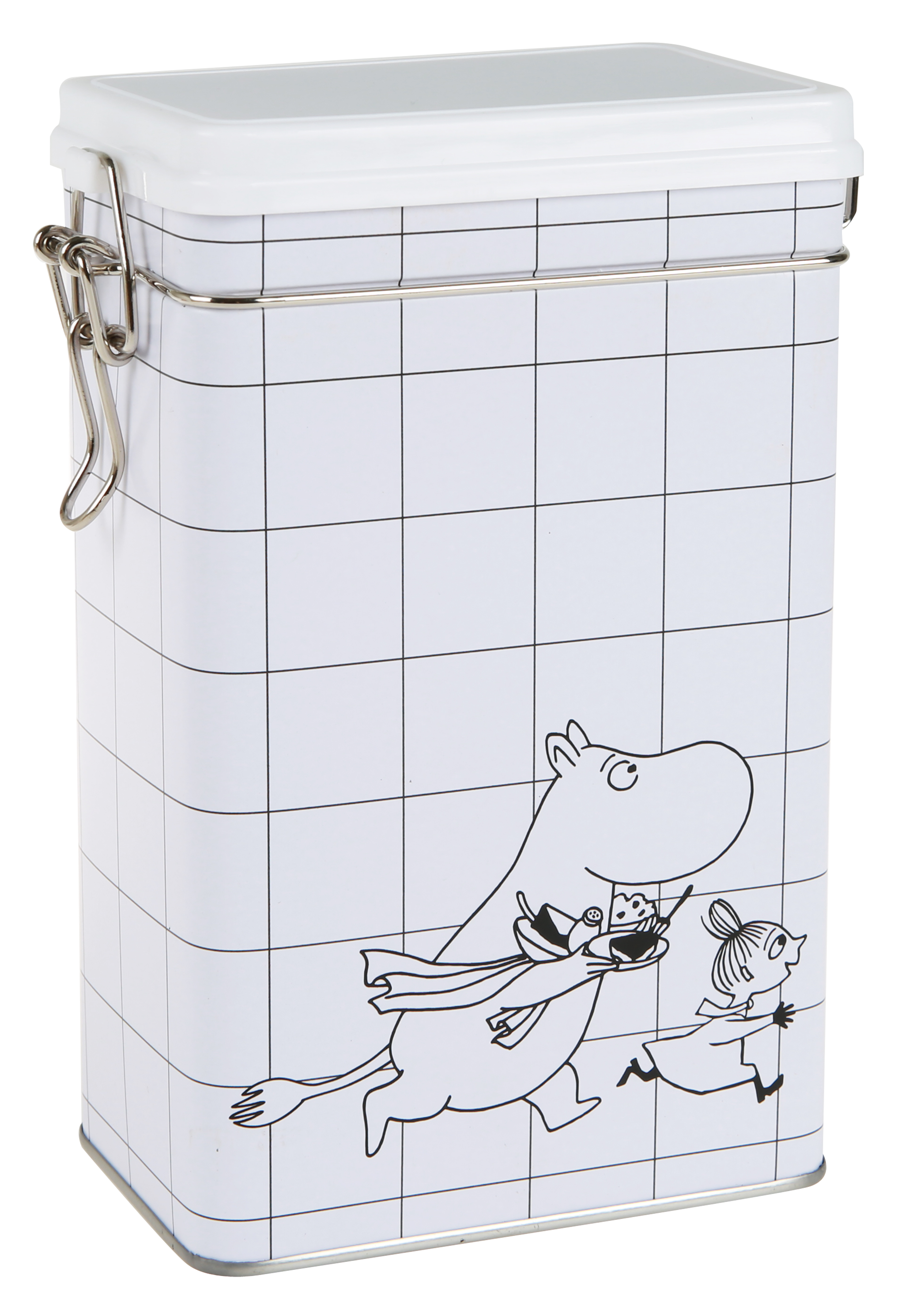 Martiex Moomin Square coffee tin