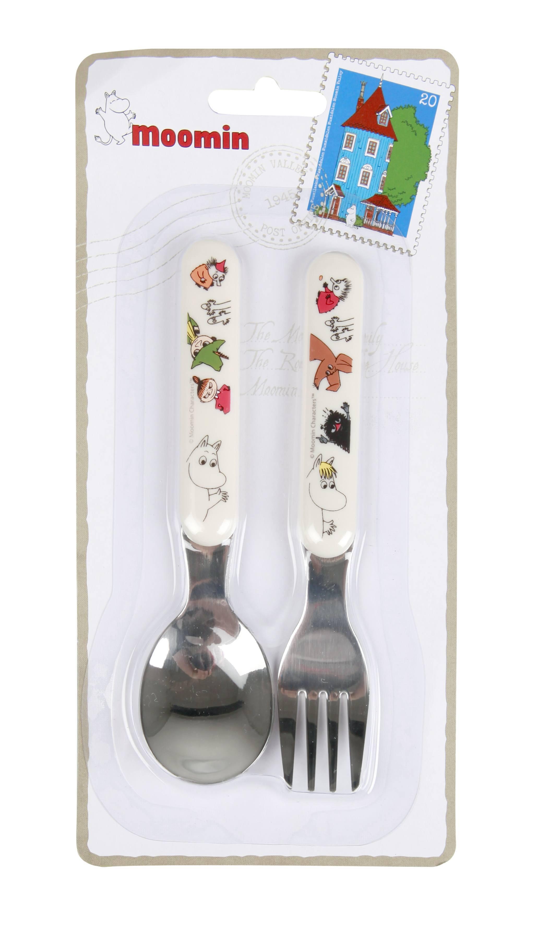 Martinex Moomin Spoon & Fork