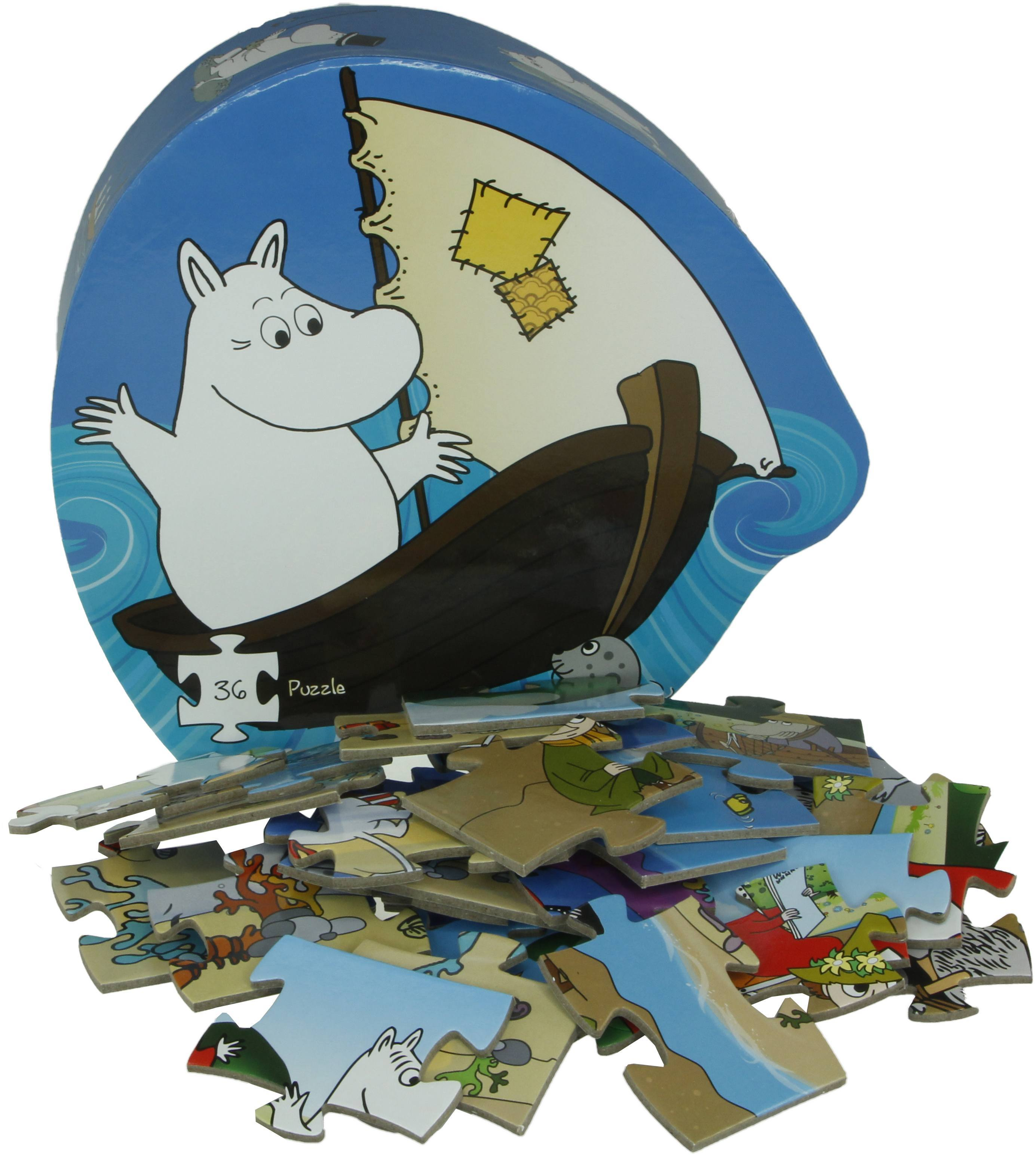 Barbo Toys deco puzzle Moomin and the sea