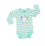 Martinex Moomin Crab Stripe Body Green