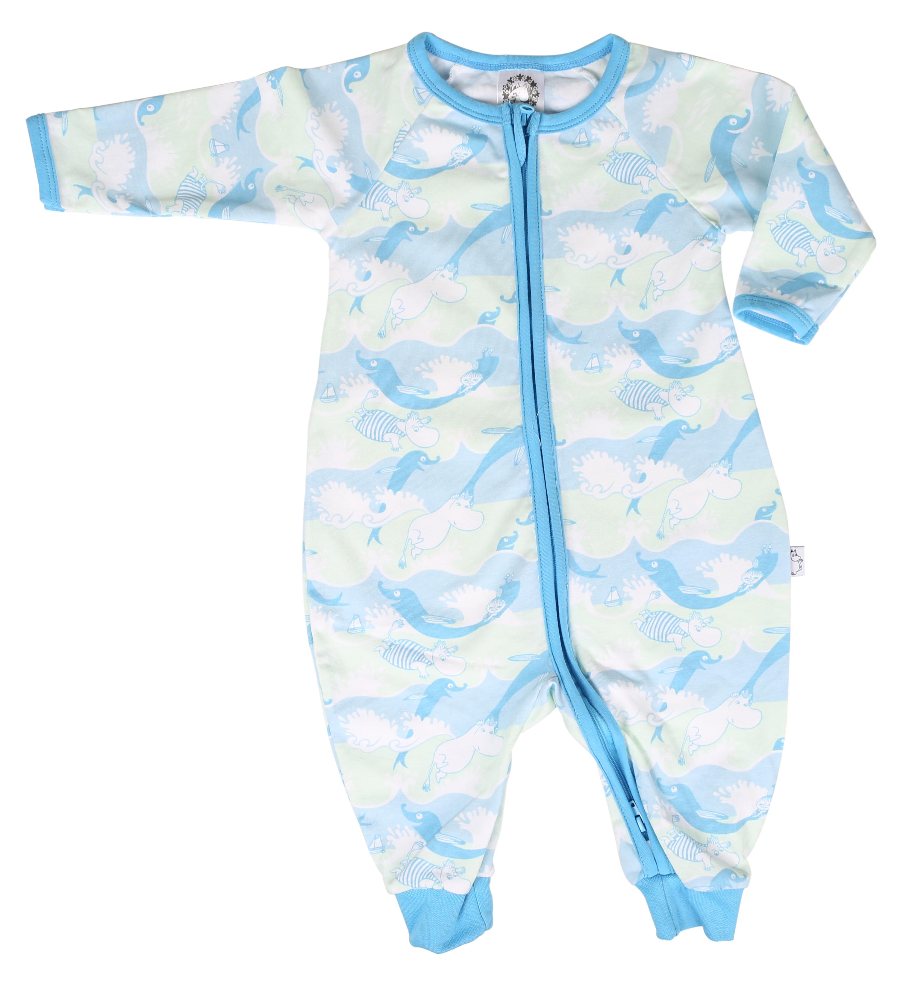 Martinex Moomin Waves Pyjama Blue