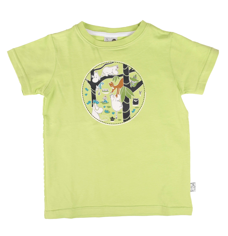 Martinex Moomin Adventure T-Shirt Green