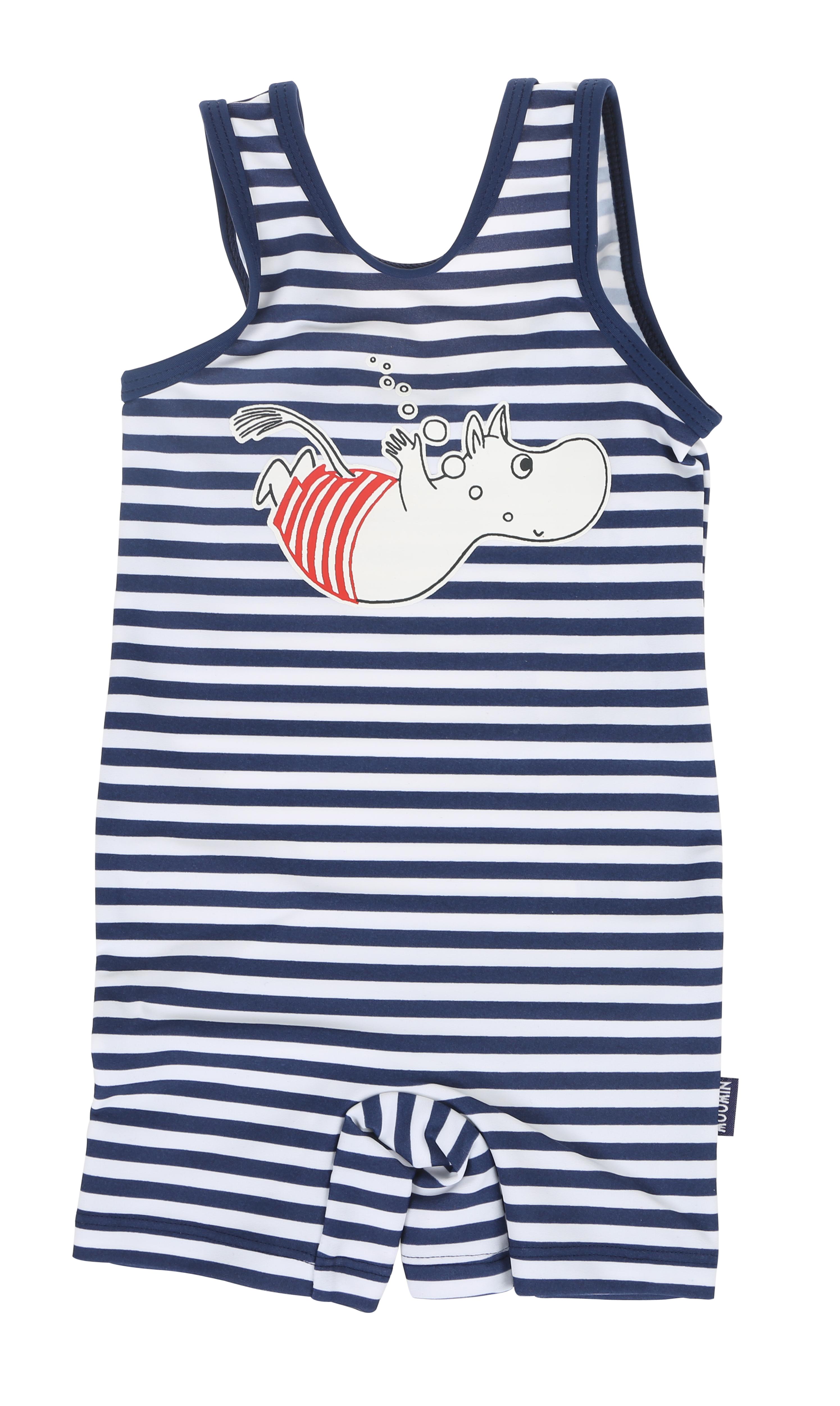 Martinex Moomin Swimsuit Stripe Blue