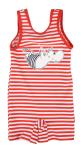 Martinex Moomin swimsuit stripe red