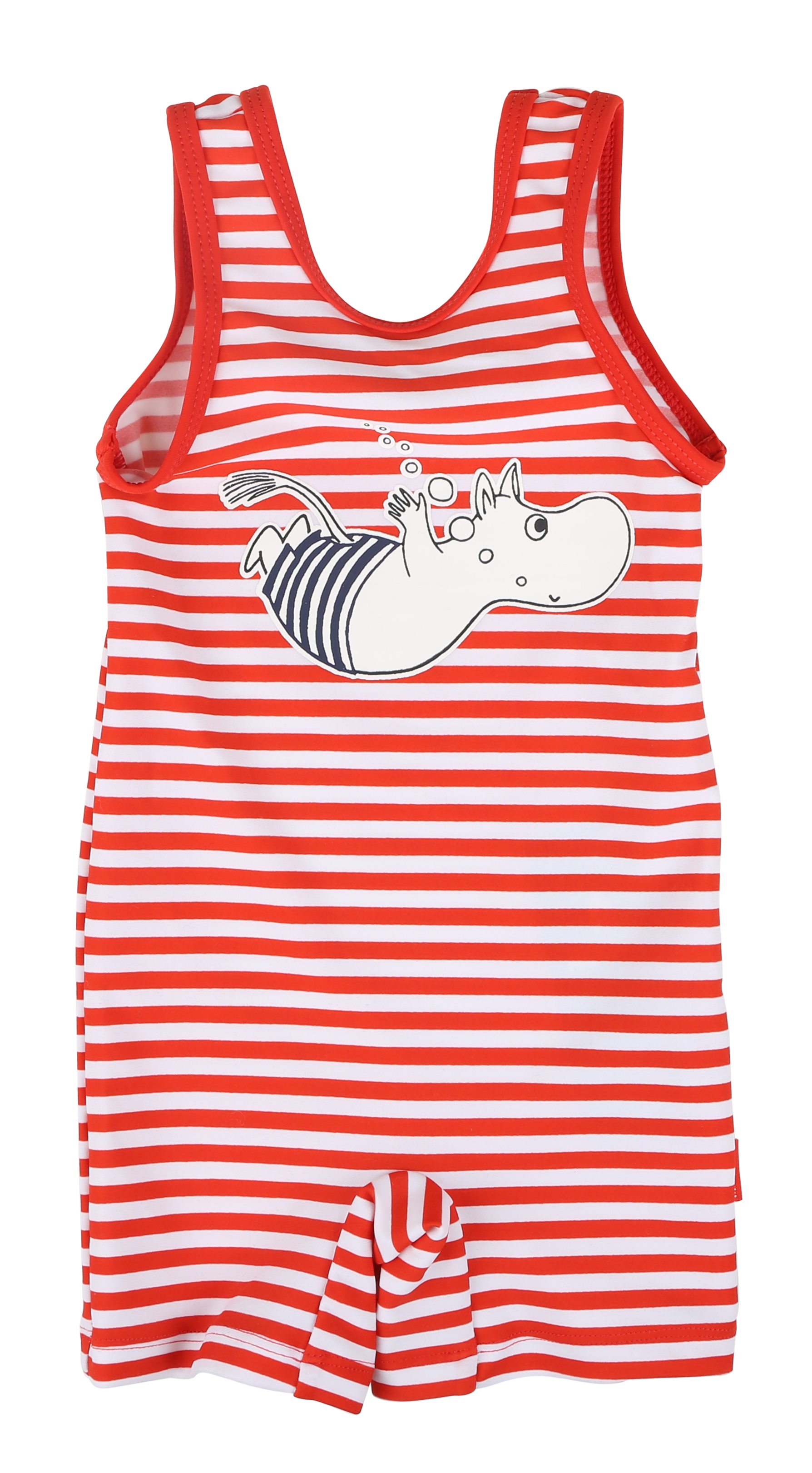 Martinex Moomin swimsuit stripe red