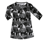 Martinex Moomin Black Tunic