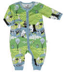 Martinex FALL DAY PYJAMA OVERALL TURQUOISE