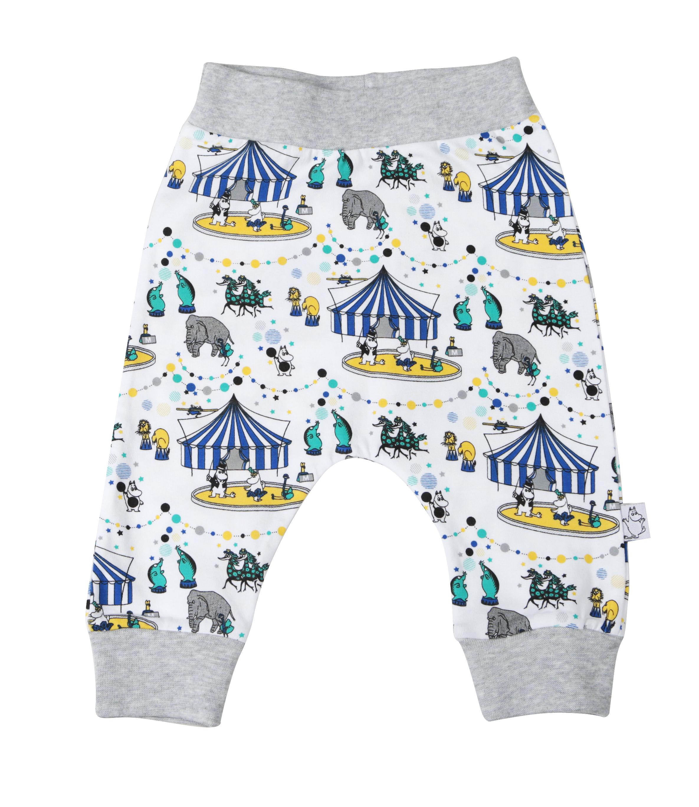 Martinex Circus baby pants white/blue