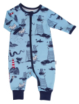 Moomin SEA PYJAMAS LIGHTBLUE