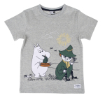 Martienx Moomin BEACH T-SHIRT GREY