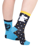 Martinex MOOMIN SOCKS BLUE 2 PAIR 23-26