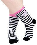 Martinex Moomin LITTLE MY SOCKS STRIPE BLK/WHT 36-38