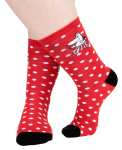 Martinex Moomin MAMMA DOTS SOCKS RED 36-38