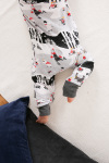 Martinex MOOMINS ON ICE PYJAMA GREY