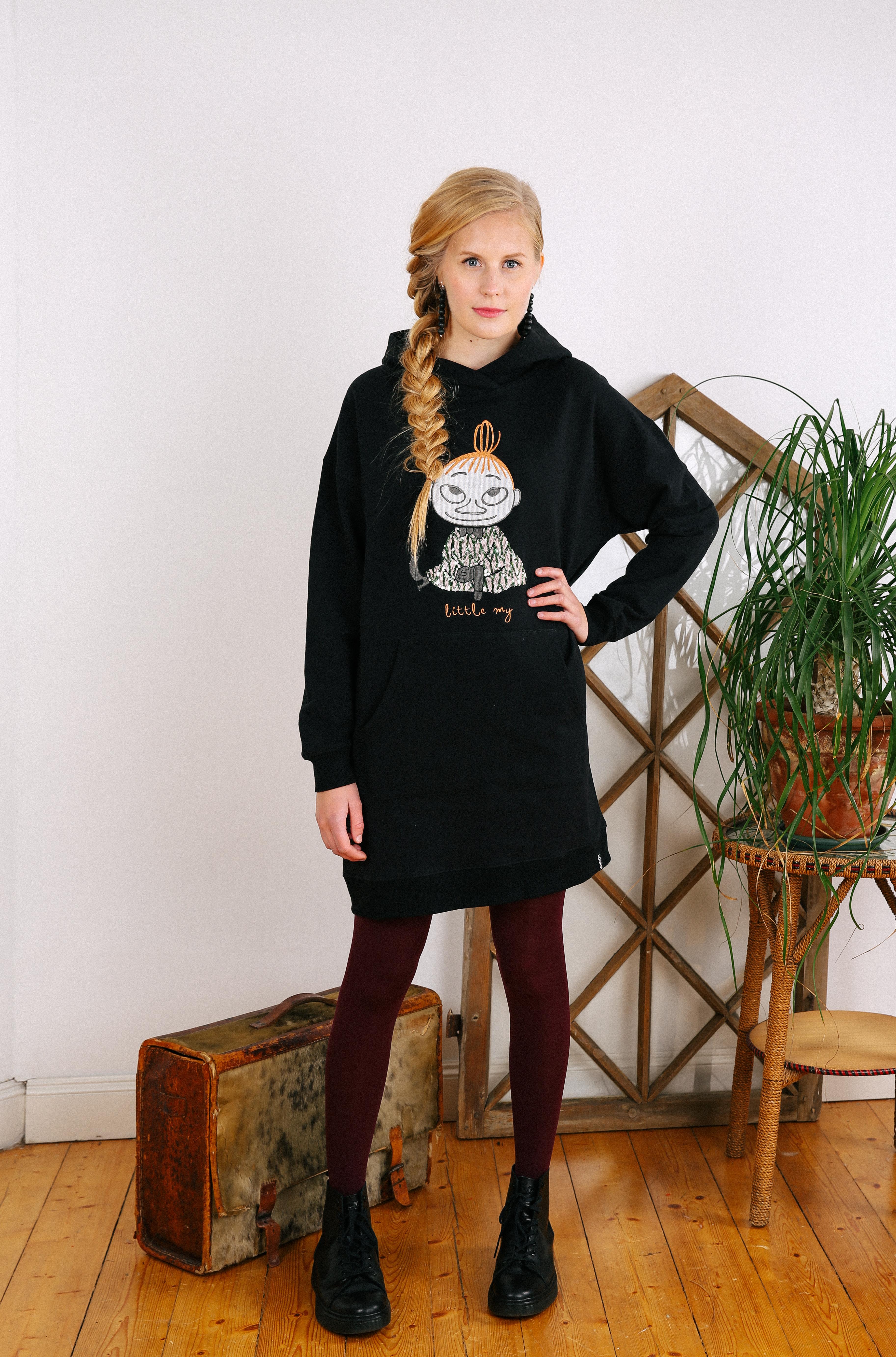 Martinex Little My hoodie black