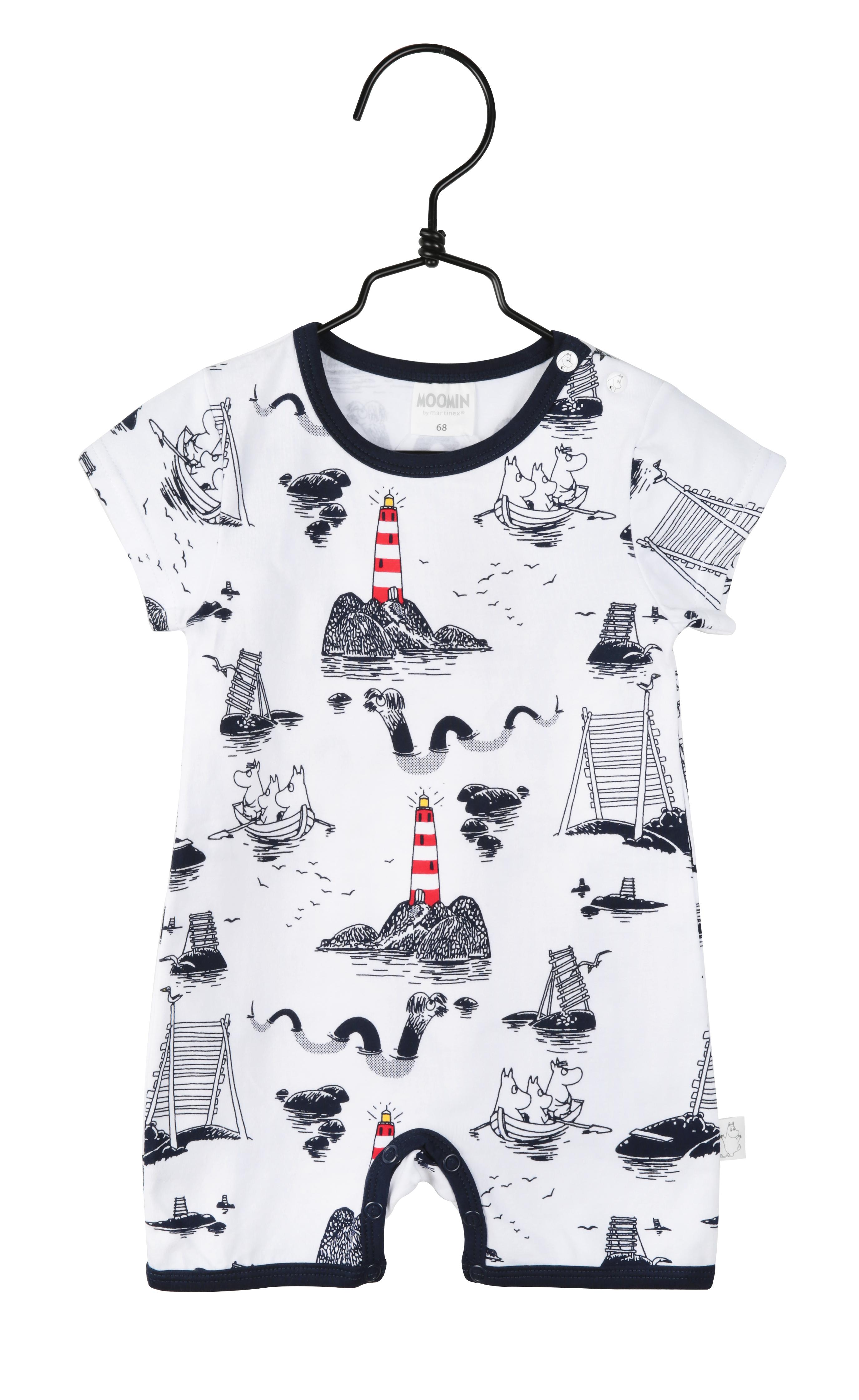 Martinex Moomin Sea playsuit