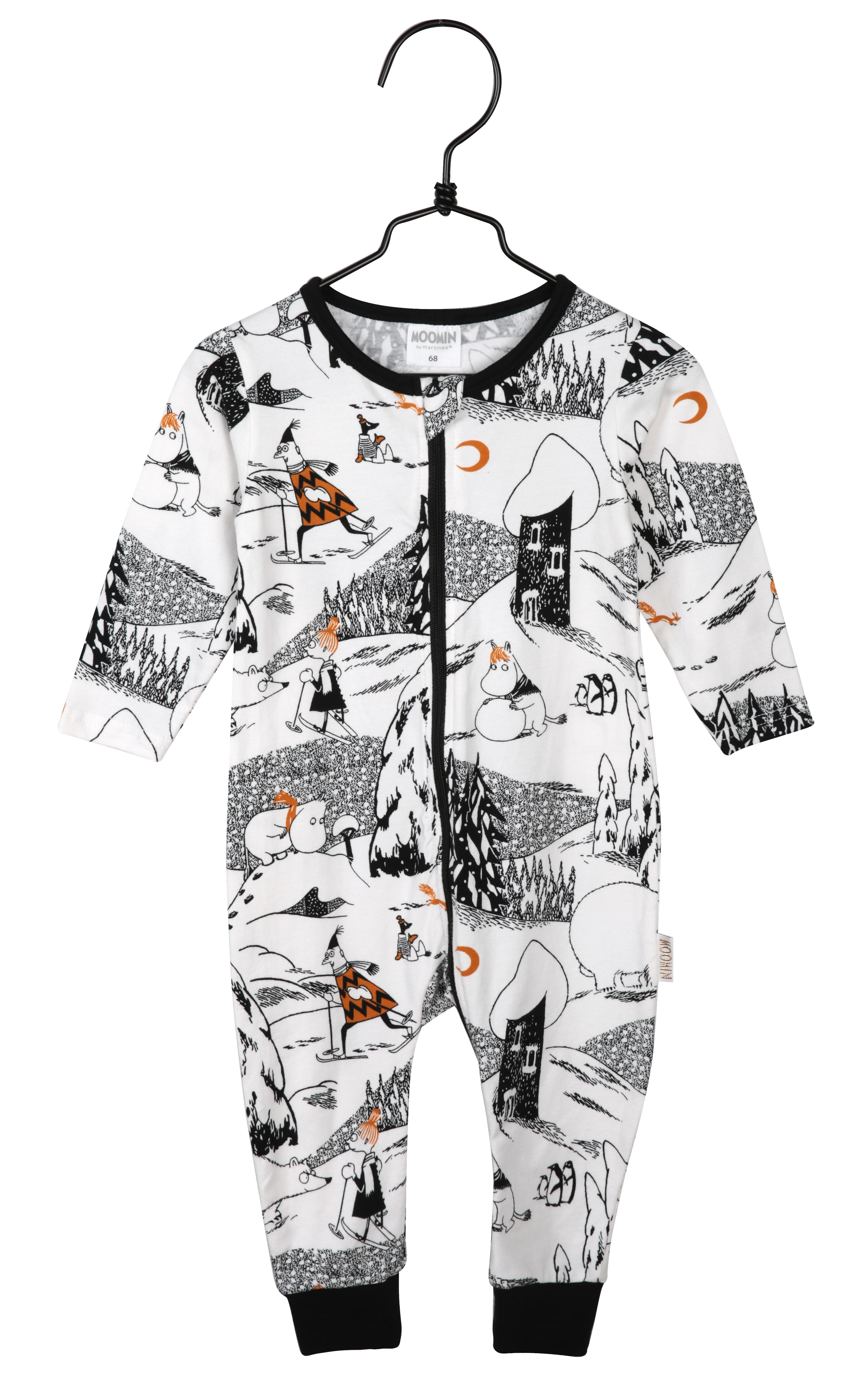 Martinex Polarbear Pyjamas Black