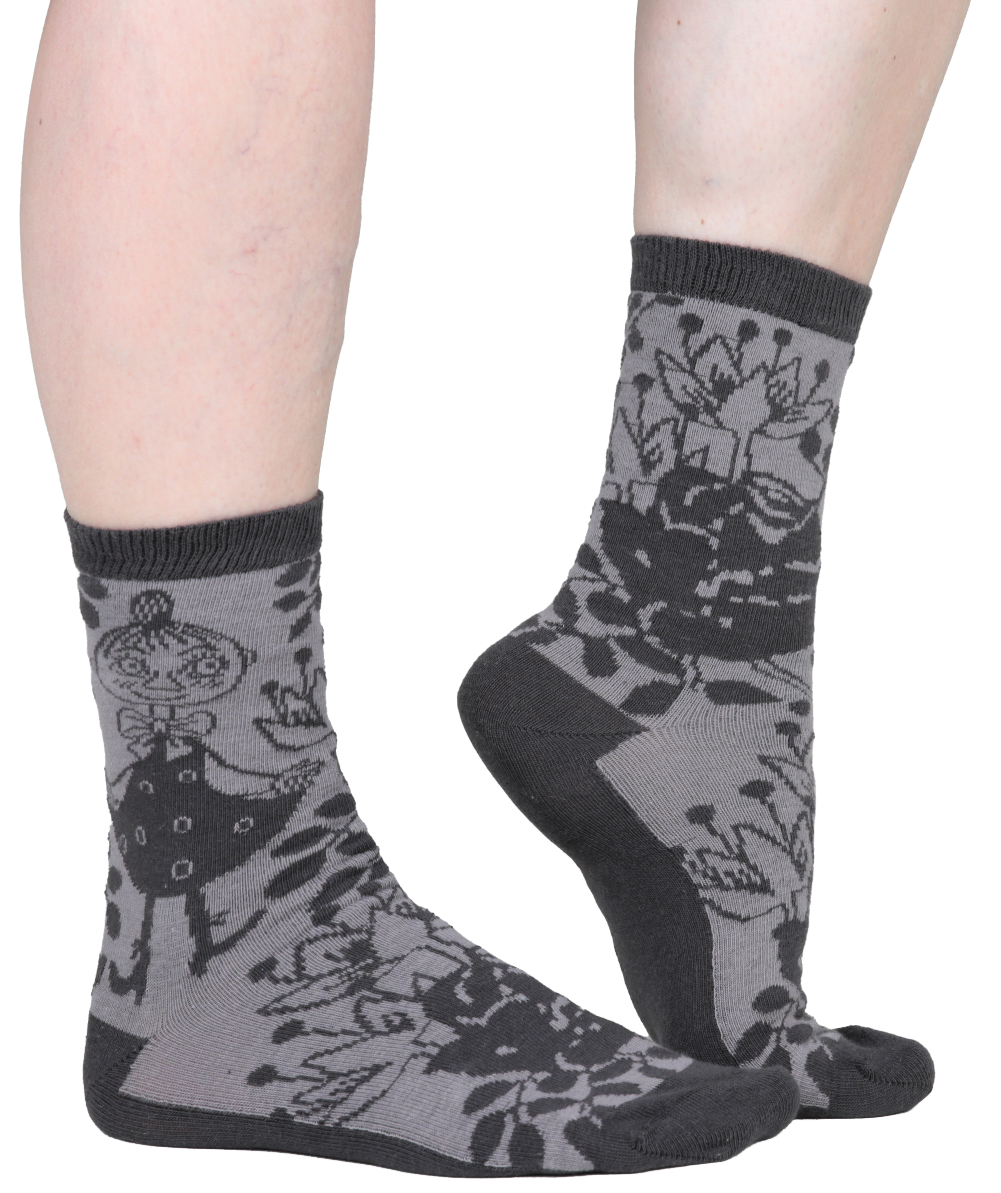 Martinex Moomin Rose Socks Gray