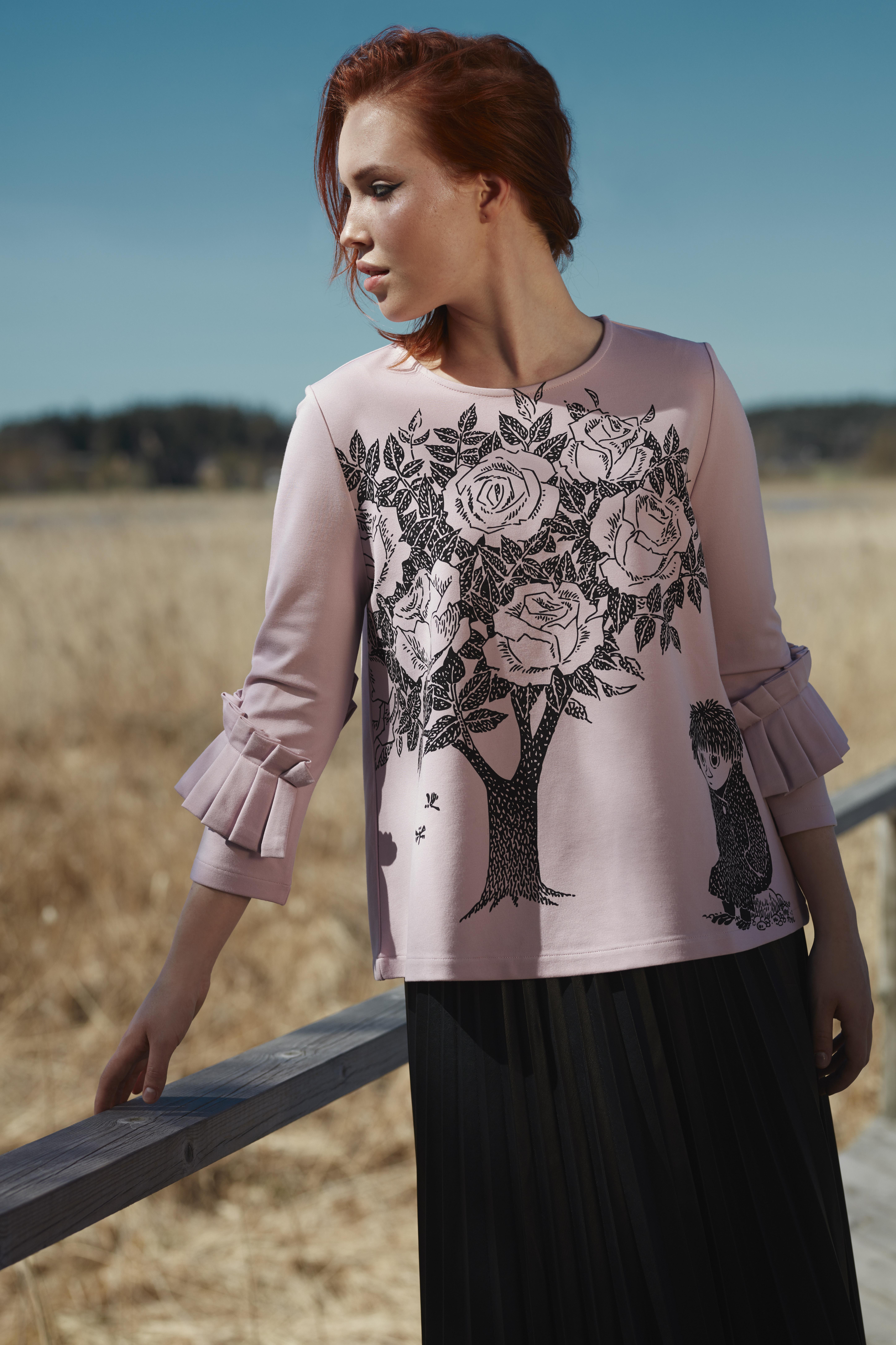 Martinex Oona Shirt Rose Tree Rose