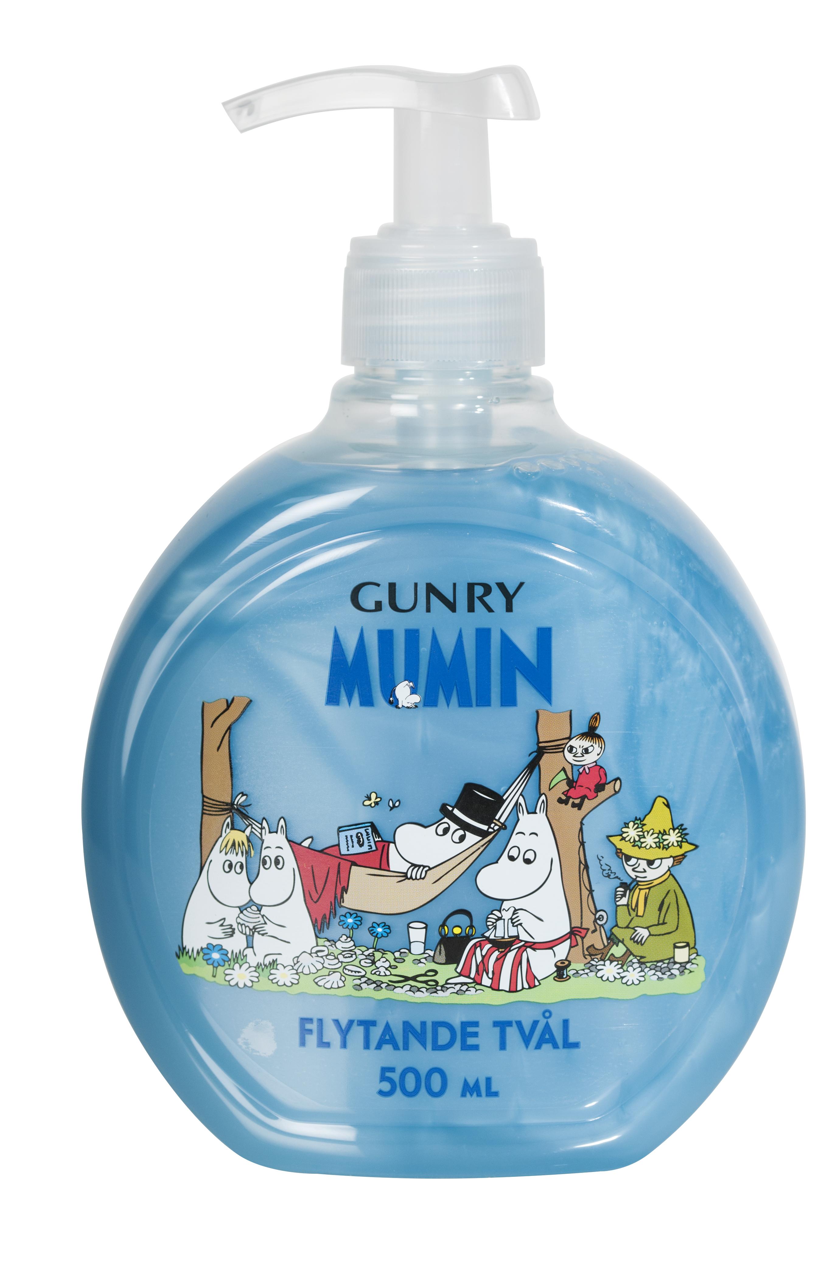 Gunry Moomin Liquid Soap Picnic
