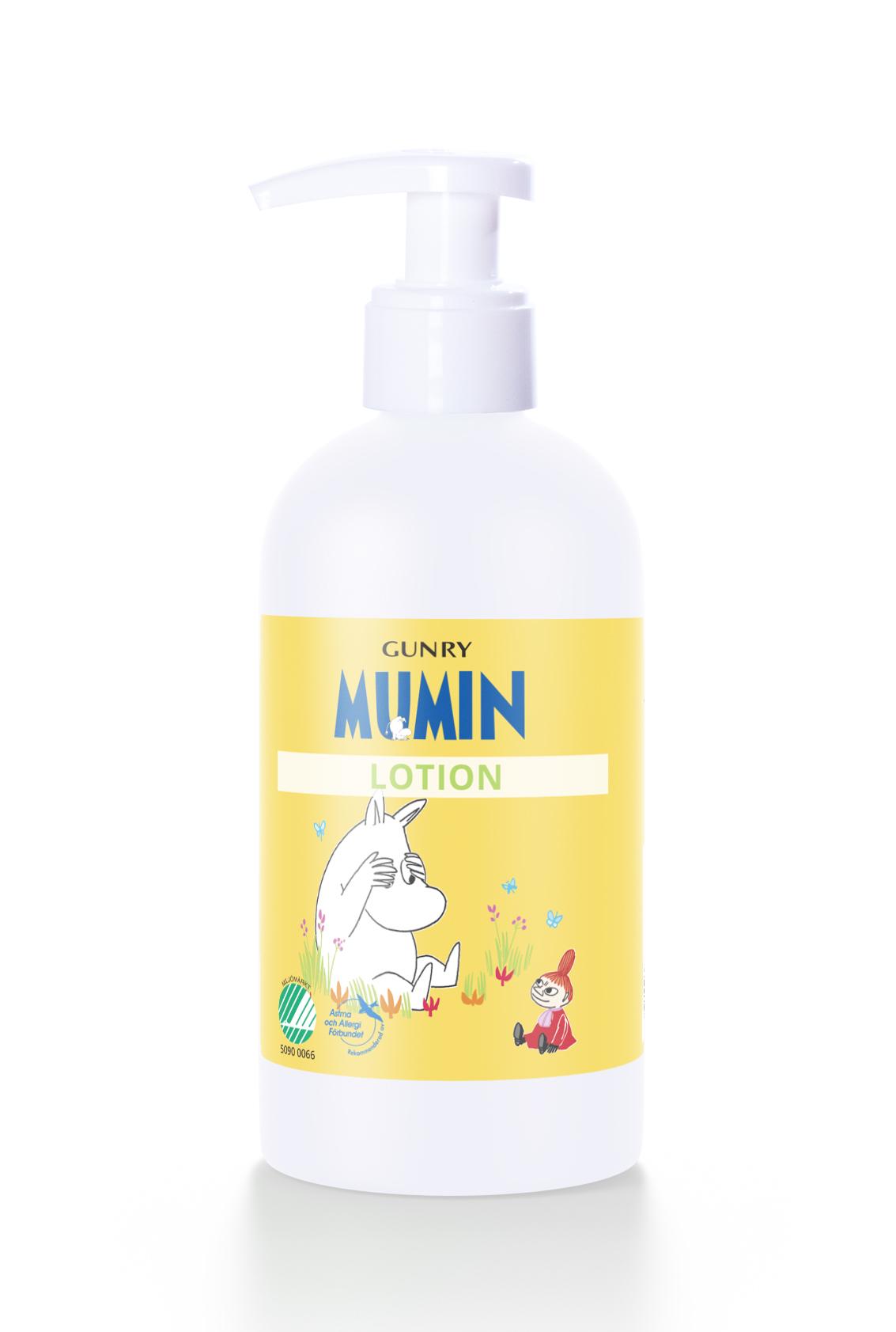 Gunry Moomin Baby Lotion