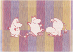 Ekelund | Moomin Stripe 01 30x25cm