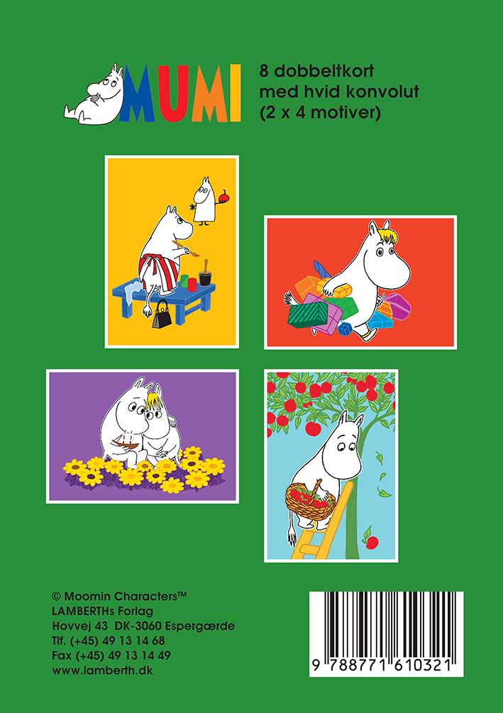 Lamberth - Moomin Giftbox with Note Cards