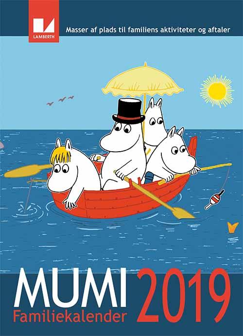 Lamberth - Moomin Family Calendar 2019