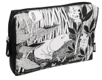 CAILAP COSMETIC BAG WITH MOOMIN BLACK