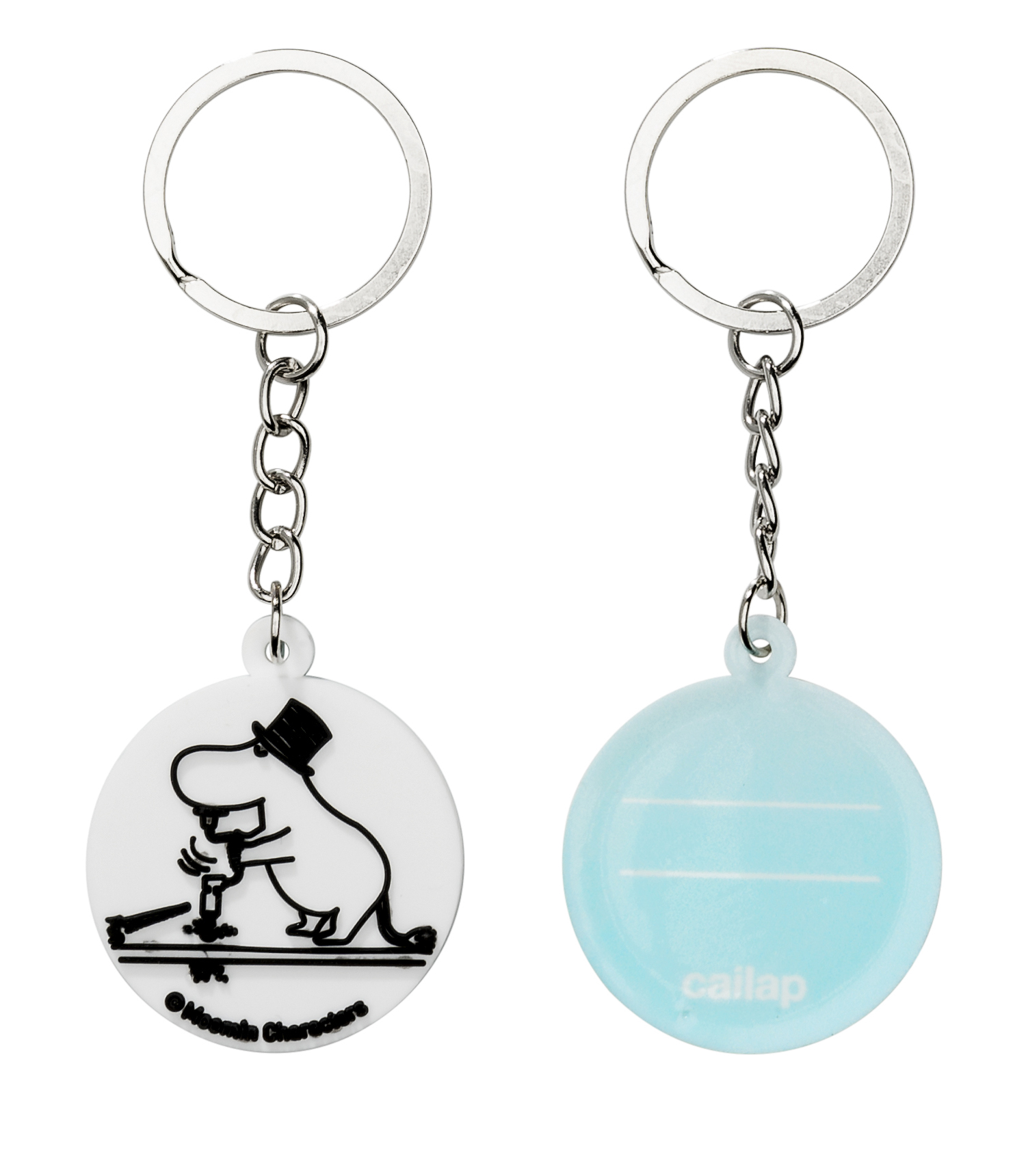 CAILAP KEY RING WITH MOOMINPAPPA