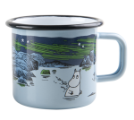 Muurla Enamel mug 3,7dl Moomin in Island