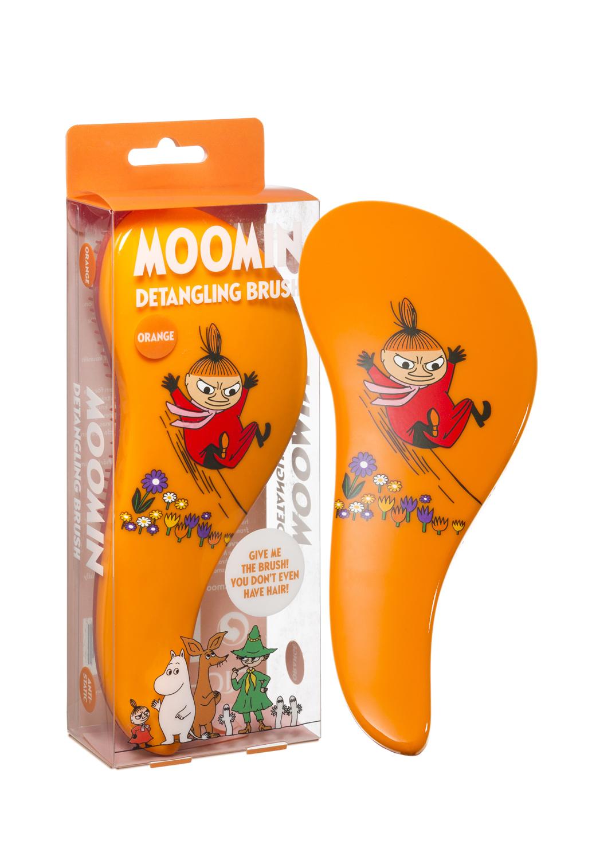 Rich Moomin Detangling Hairbrush Little My Orange
