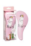 Rich Moomin Detangling Hairbrush Snorkmaiden Pink