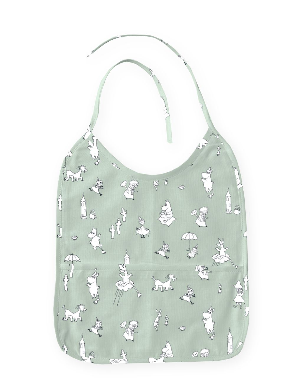 Finlayson Moomin Friends Bib Oilcloth Fabric