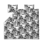 Finlayson Adventurous Moomin Double Duvet Cover Set
