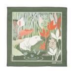 FatCloth for Moomin Garden Pocket Square