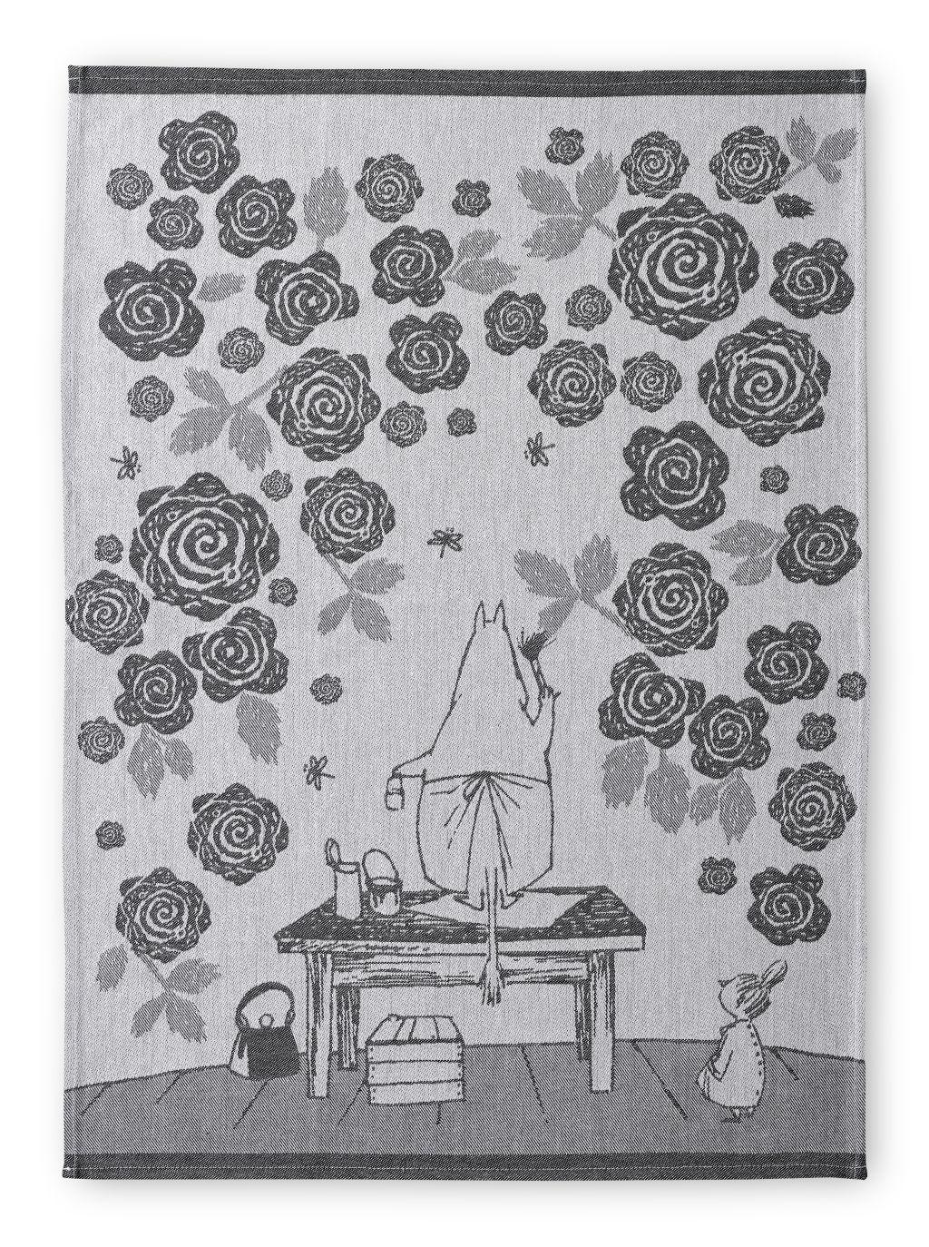 Finlayson Moominmamma's Rose Garden Kitchen Towel