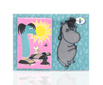 Moomintroll Reflector & Card Case by Popomax