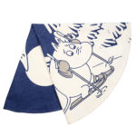 Pluto Produkter Christmas Mat Moomin Skiing