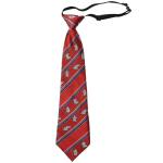 Lasessor adventure children silk tie red
