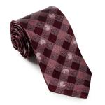 Lasessor Muumikuperkeikka silk necktie wine