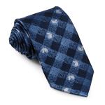 Lasessor Muumikuperkeikka silk necktie d.blue