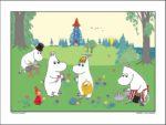 Lamberth - Moomin Poster 60x80cm.