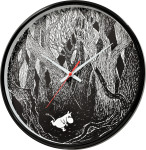 Saurum Wall Clock - Moomin at Forest