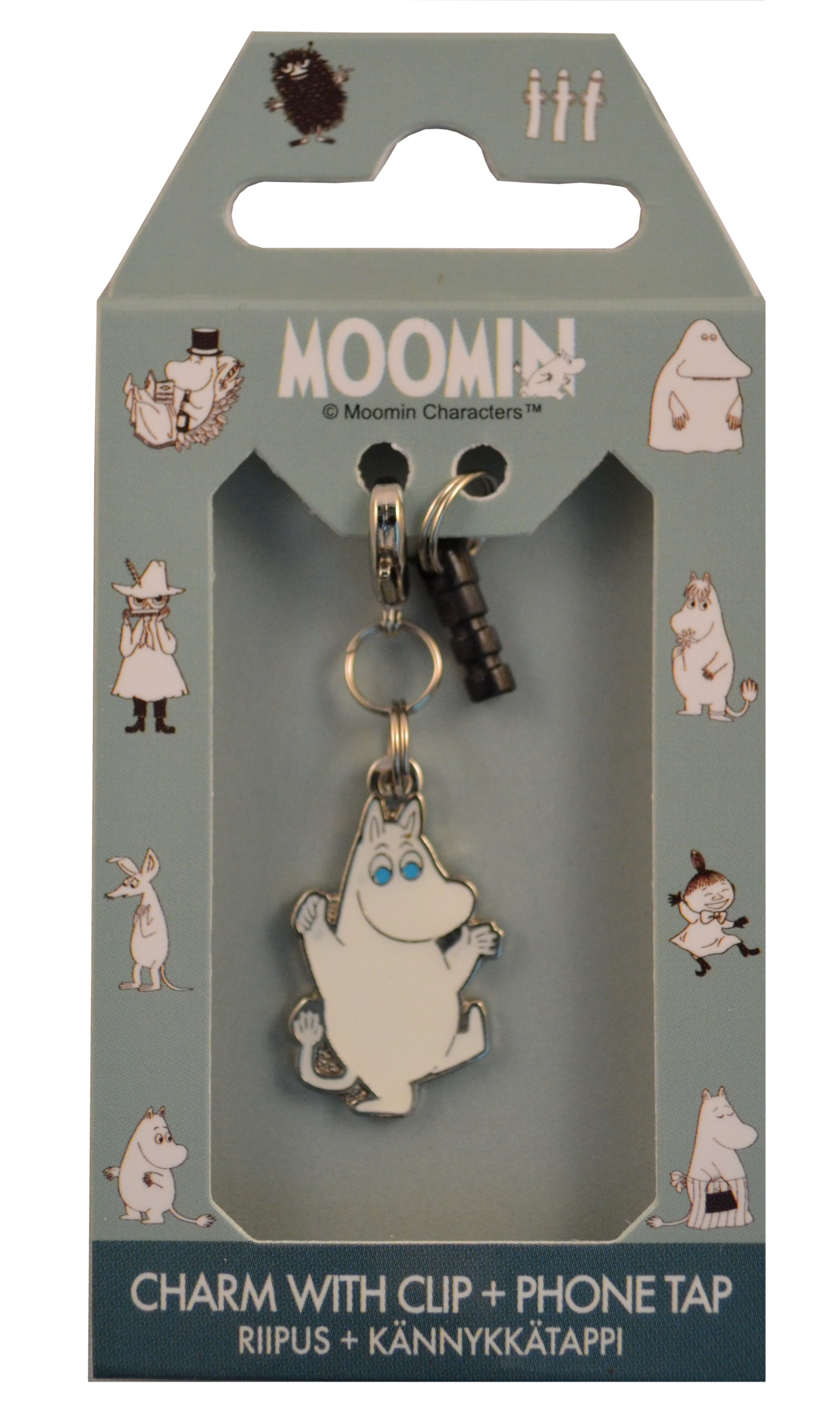 TMF Trade Metal phone charm & clip
