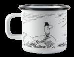 Makia x Muurla Moominpappa and the Sea - Solitude enamel mug 3,7 dl
