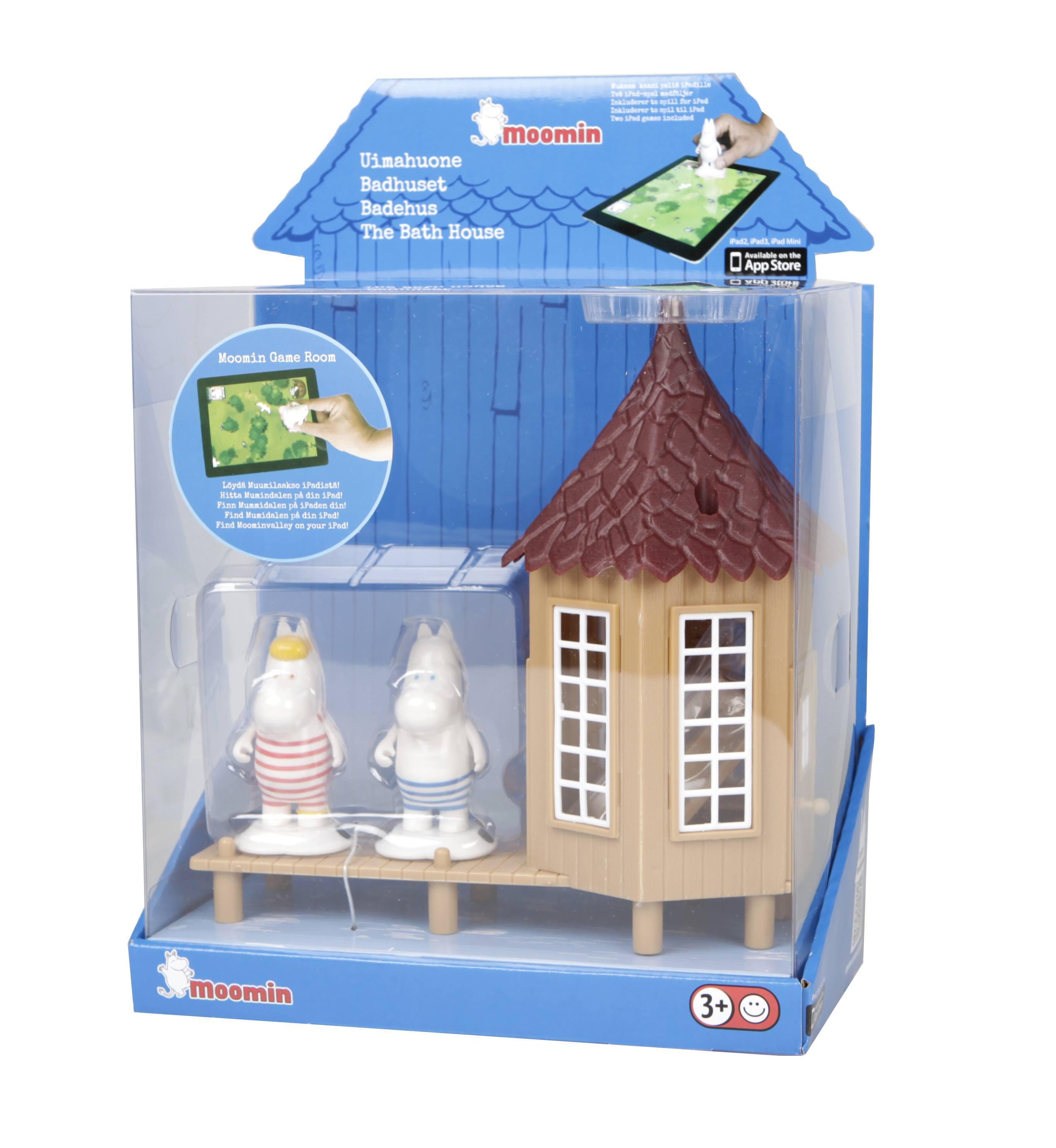 Martinex Moomin swim house with 2 figures