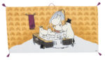 Turiform Moomin towel multi (not available in Finland)