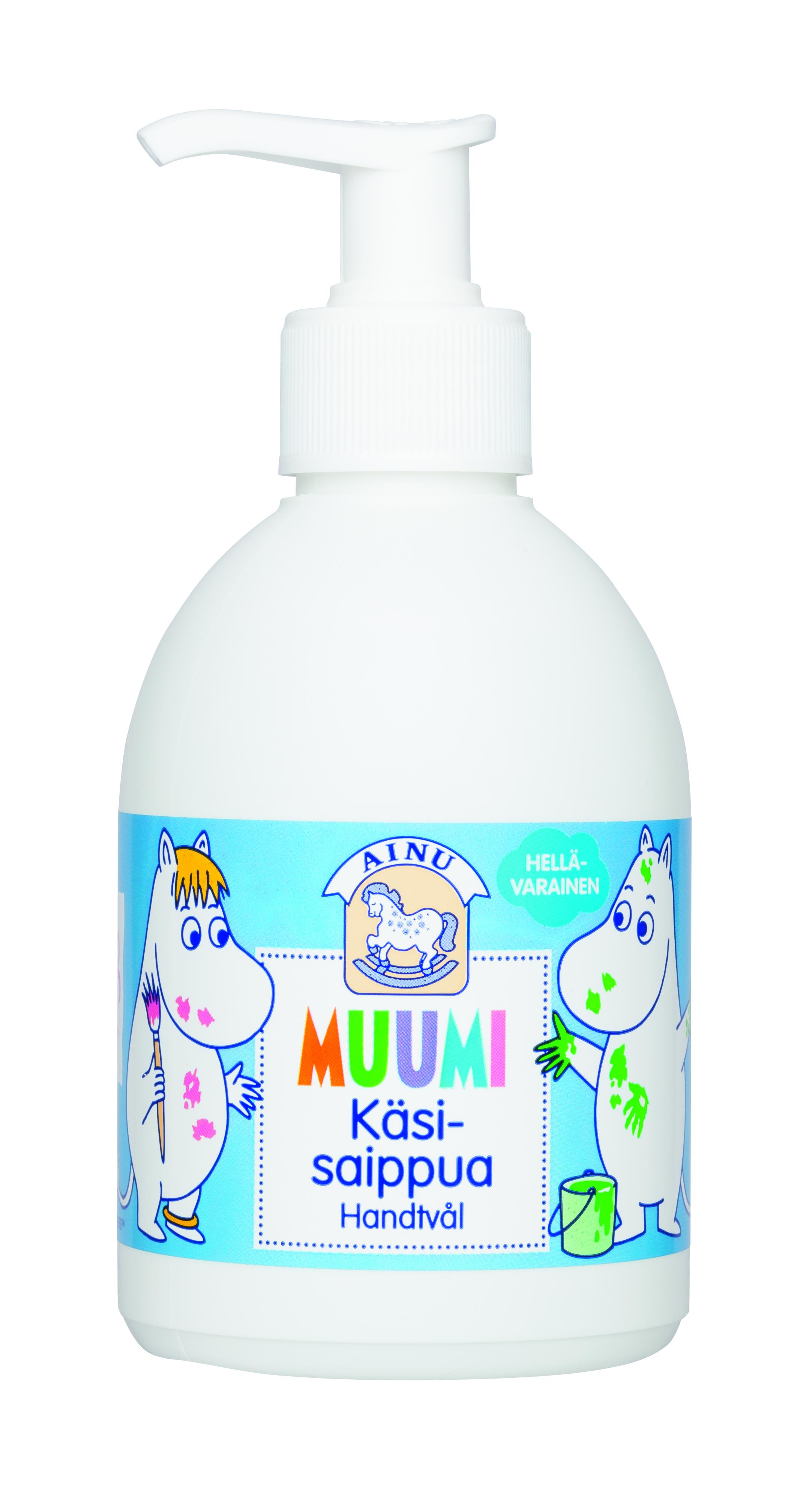 Berner Ainu Moomin Hand Soap