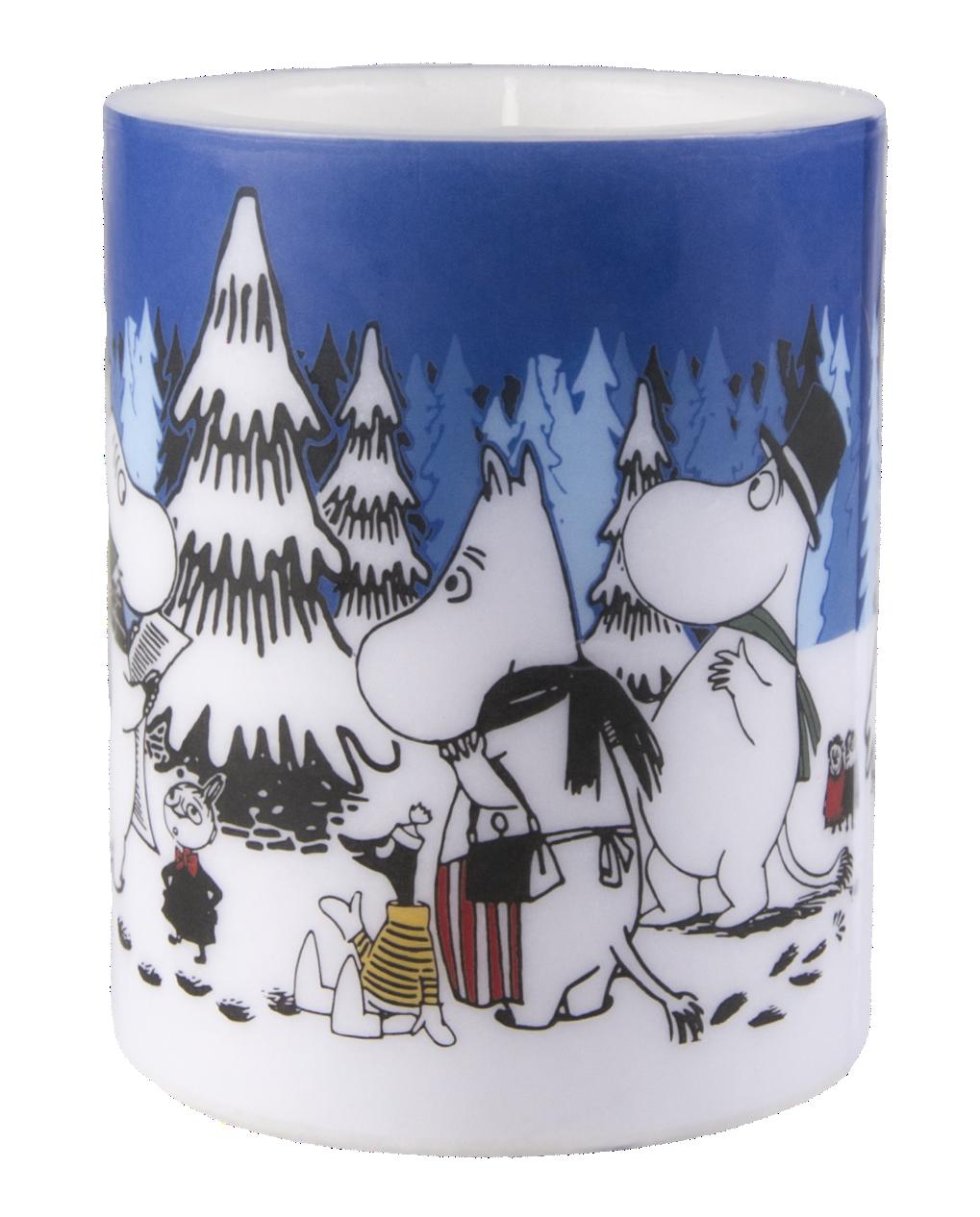 Muurla Moomin Winter Forest 12cm